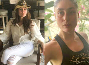 5 stylish things Kareena is doing while working from home