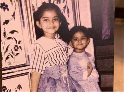 Rhea shares a childhood picture Sonam