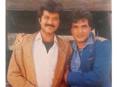 Anil shares a throwback pic with Jeetendra