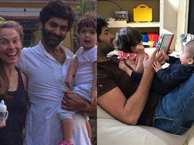 A look at Purab Kohli and family's happy pics