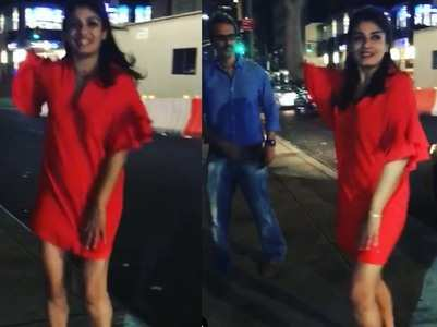 Video: When Raveena's daughter got embarrassed