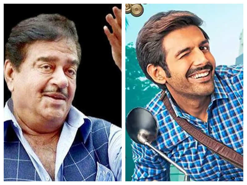 Shatrughan Sinha is all praise for Kartik Aaryan's performance in 'Pati Patni Aur Who', says the actor has a great future