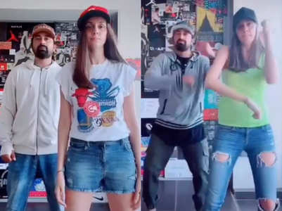 Rannvijay Singha makes wife his dance buddy