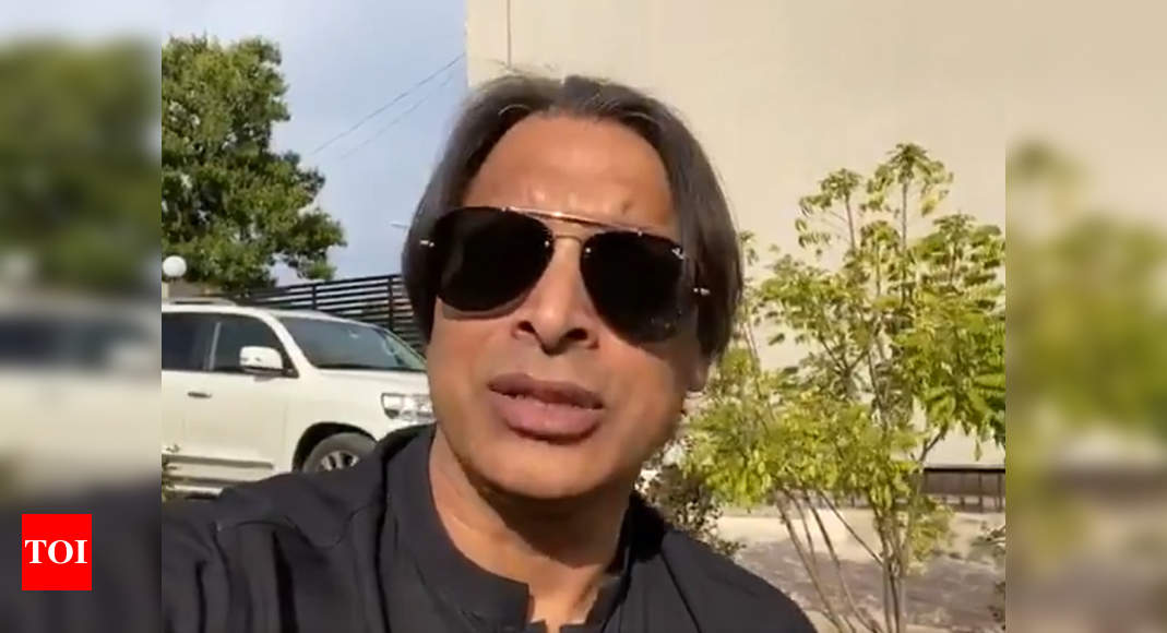 Shoaib Akhtar proposes Indo-Pak series to raise funds for fight against COVID-19 pandemic - Times of India