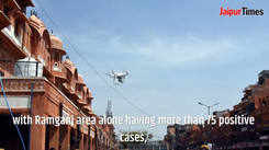 Covid-19 lockdown: Jaipur police deploy drones for aerial survey in the Walled City