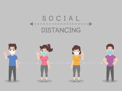 Make your kid understand social distancing