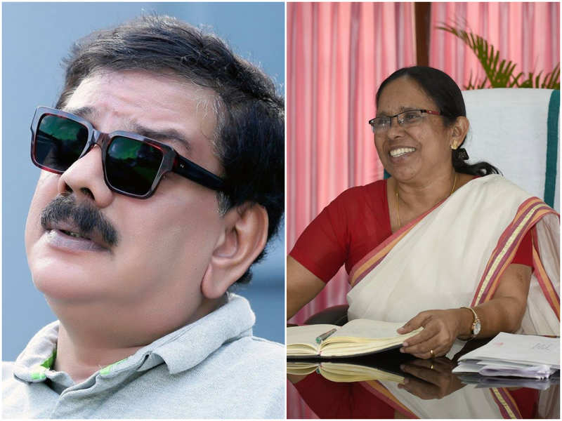 Filmmaker Priyadarshan refers to Kerala Health Minister as the 'The Florence Nightingale of Kerala'