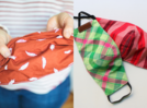 Here's how you can make cloth masks and face coverings at home without sewing