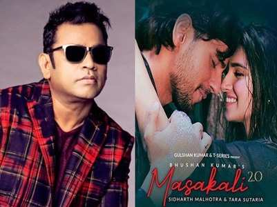 Rahman upset with 'Masakali 2.0'? Check tweet