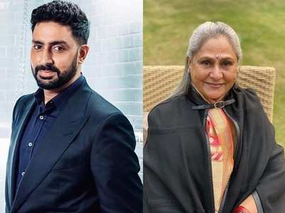 Abhishek wishes his mom Jaya on her birthday