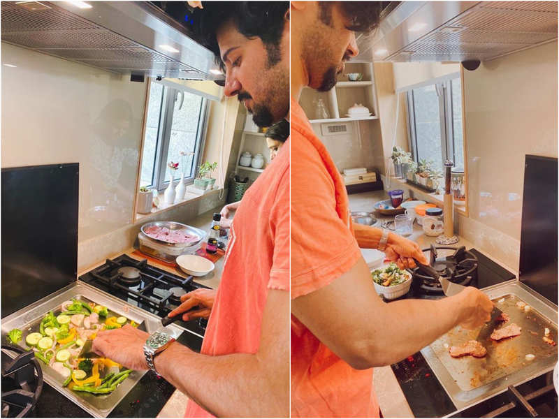 Dulquer Salmaan turns chef during lockdown!