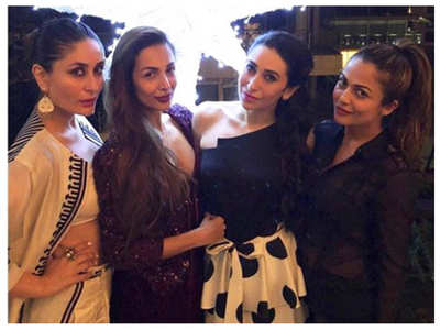 Endearing pics of Kareena with her girl-gang