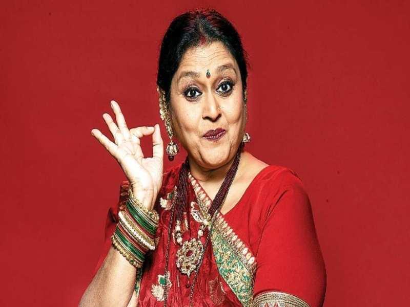 Supriya Pathak in the show 'Khichdi'