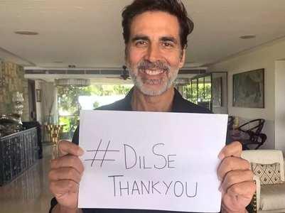 TOTD: Akshay starts #DilSeThankYou initiative