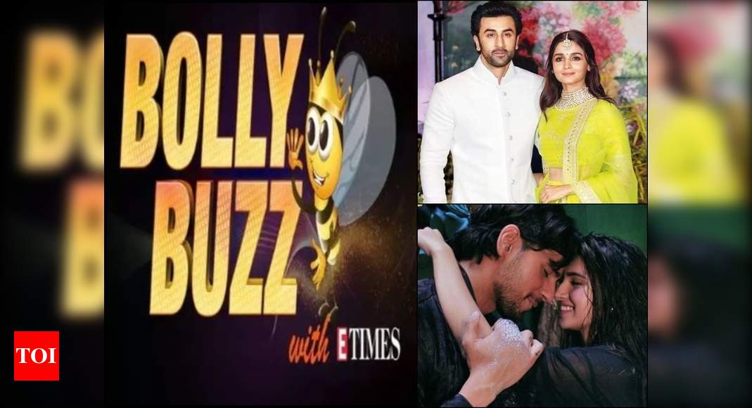 Bolly Buzz: Alia Bhatt-Ranbir Kapoor capture each other for 'Family', AR Rahman disappointed with 'Masakali 2.0' and Kareena Kapoor Khan connects with her besties – Times of India ►
