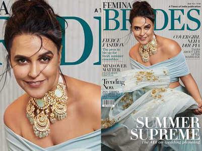Neha Dhupia's summer bridal shoot