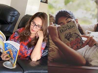 Lockdown: Madhuri & Jacqueline read books