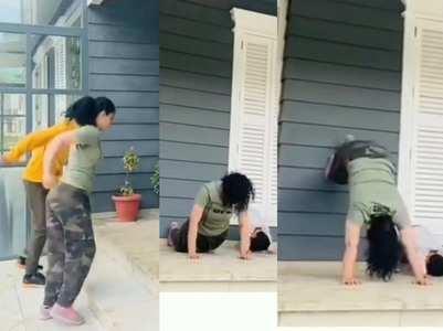 Watch Kangana Ranaut's workout video here!