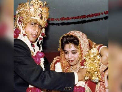 Did you know SRK-Gauri had three weddings?