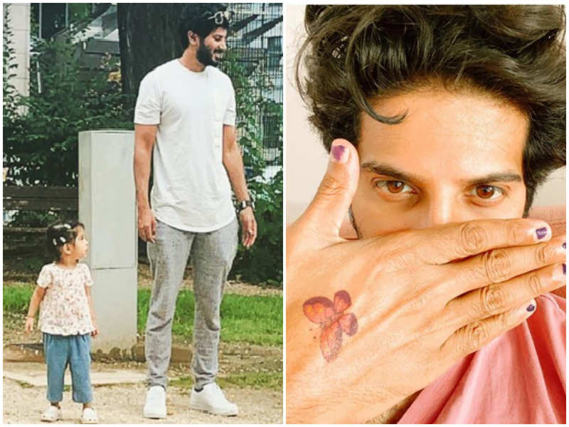Dulquer Salmaan turns princess for his daughter