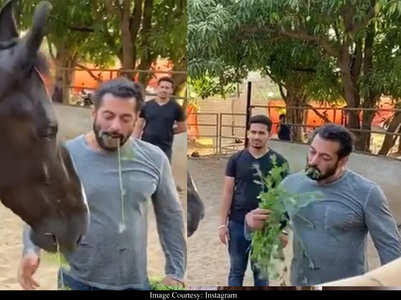 Video: Salman enjoys breakfast with his love