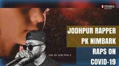 Jodhpur rapper PK Nimbark raps on coronavirus