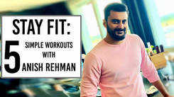 Anish Rehman urges everyone to stay fit during lockdown period