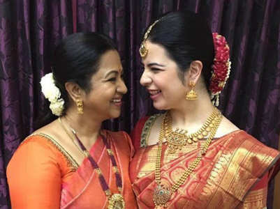 Radhika's daughter Rayane names her girl baby after her mother