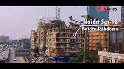 Here's how Noida's Sector-18 looks like under lockdown