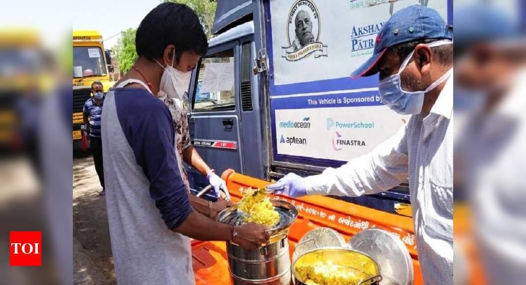 Akshaya Patra Foundation and associates feed 1.44 cr during lockdown