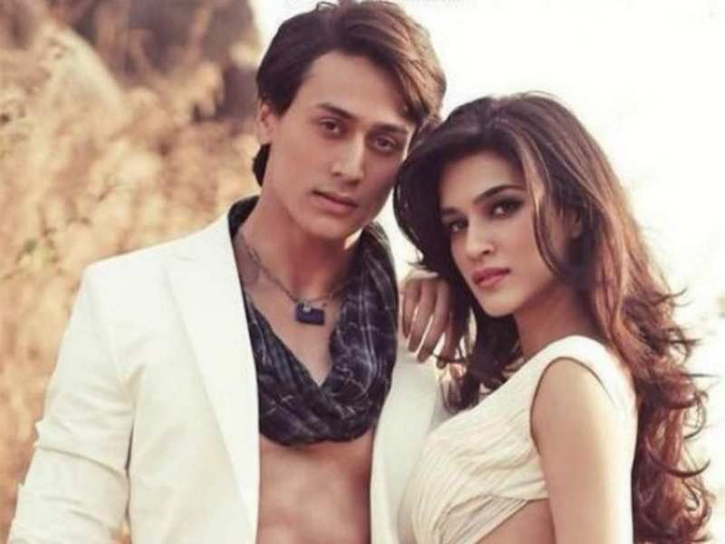 Kriti Sanon is keen to team up with Tiger Shroff on the silver screen    Hindi Movie News - Times of India