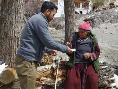 Leh serves up counselling session with food grains to migrant ...