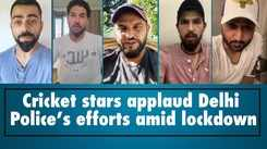 Cricket stars applaud Delhi Police's efforts amid lockdown