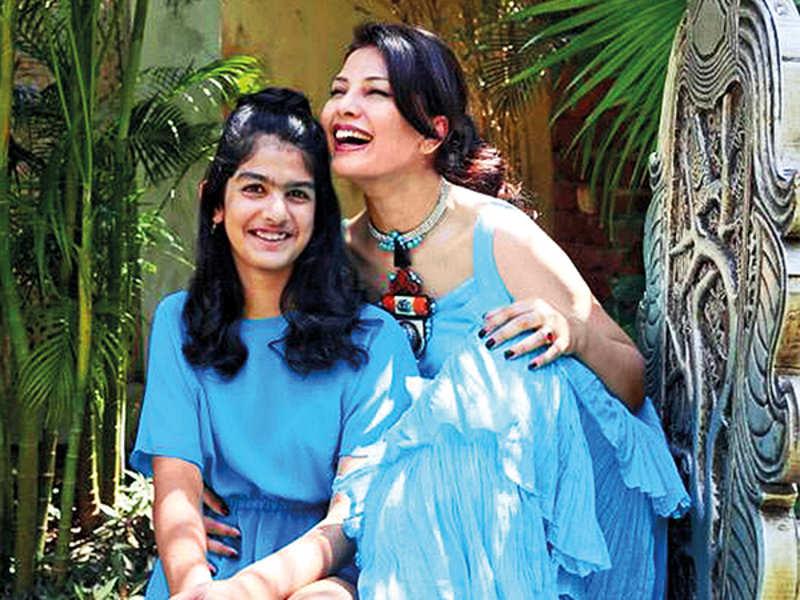 Ritu Beri with her daughter Jiya