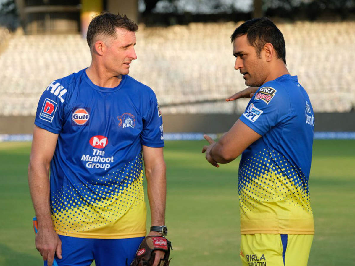 MS Dhoni gets over losses quickly, says Michael Hussey   Cricket News -  Times of India