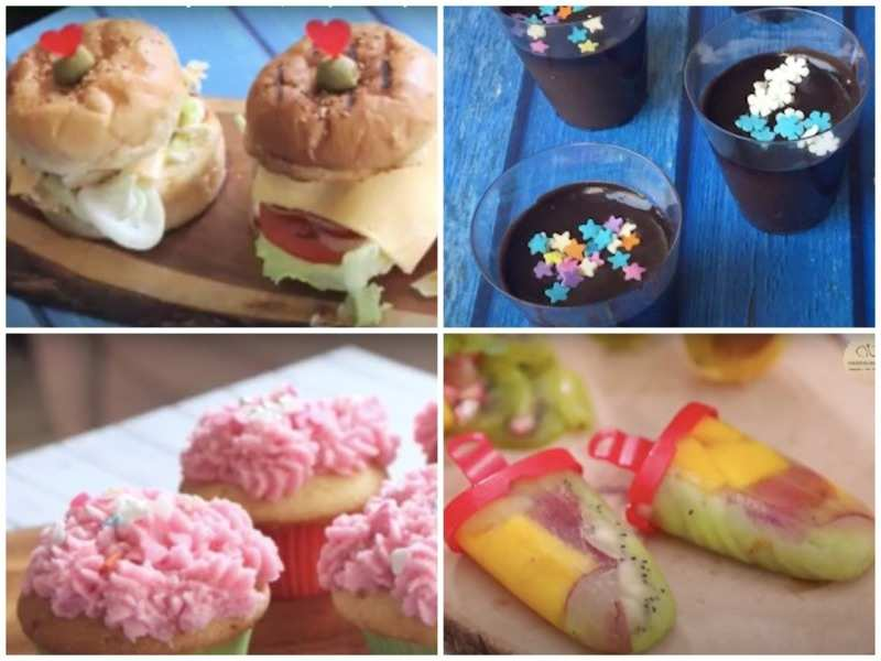Make and enjoy these yummy treats with your kids