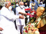 In pics: Tributes paid to Ambedkar on 129th birth anniversary