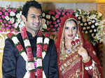 Sania Mirza and Shoaib Malik pictures