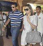 Lara-Mahesh arrive in Goa