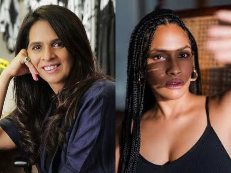 India's top designers Anita Dongre and Masaba Gupta set to produce masks to fight against Coronavirus