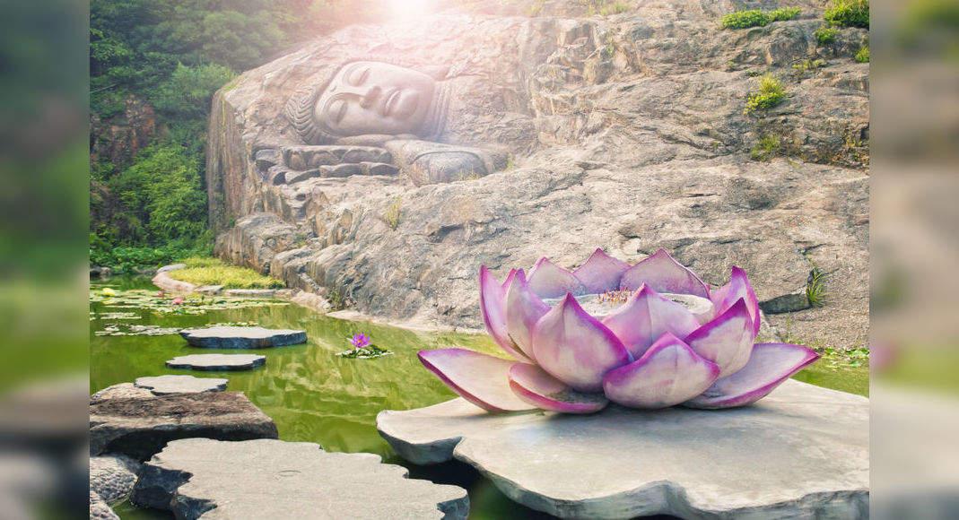 Jiangxi, China: where a 600-year-old Buddha statue emerged from water, China