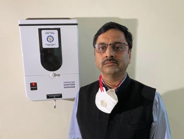 DRDO develops contactless sanitiser dispenser, UV light-based disinfection box to fight COVID-19