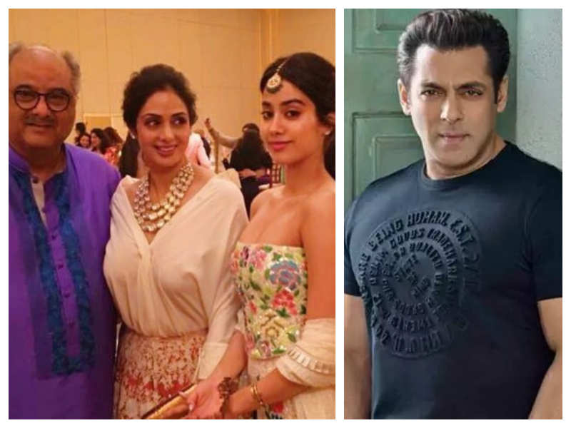 Did you know that Janhvi Kapoor once told Salman Khan that her parents Sridevi and Boney Kapoor's marriage is made in heaven?