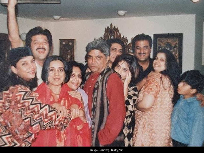 THIS priceless memory from Anil Kapoor's birthday captures Boney Kapoor with ex-wife Mona Kapoor and son Arjun