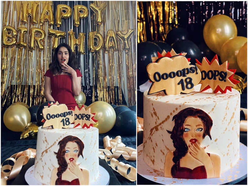 Oops, 18! Inside Saniya Iyappan's birthday celebration