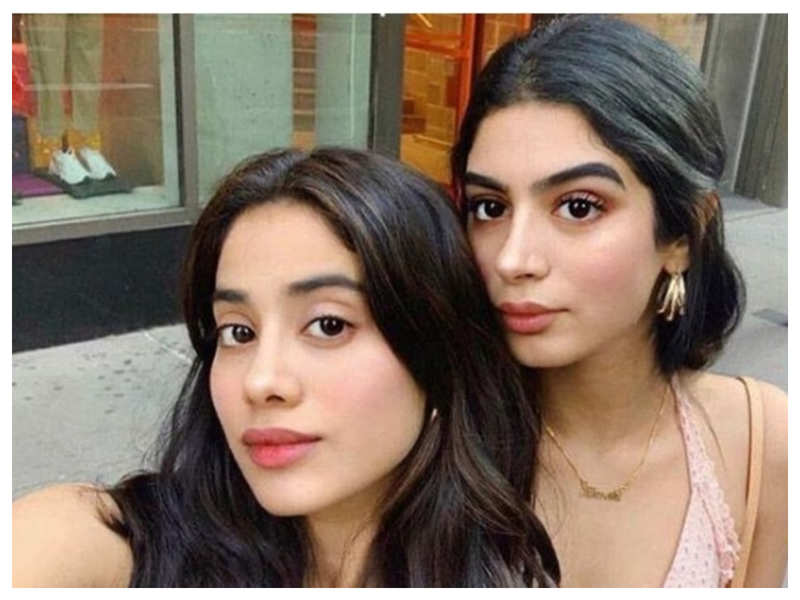THIS throwback picture of Janhvi and Khushi Kapoor will give you major sibling goals