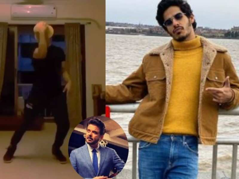 Anil Kapoor comments 'loved it' on Ishaan Khatter's dance video