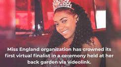 Miss England crowns its first virtual finalist via videolink