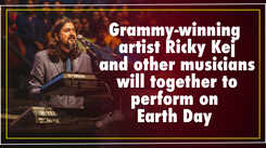 Grammy-winning artist Ricky Kej and other musicians to perform on Earth Day