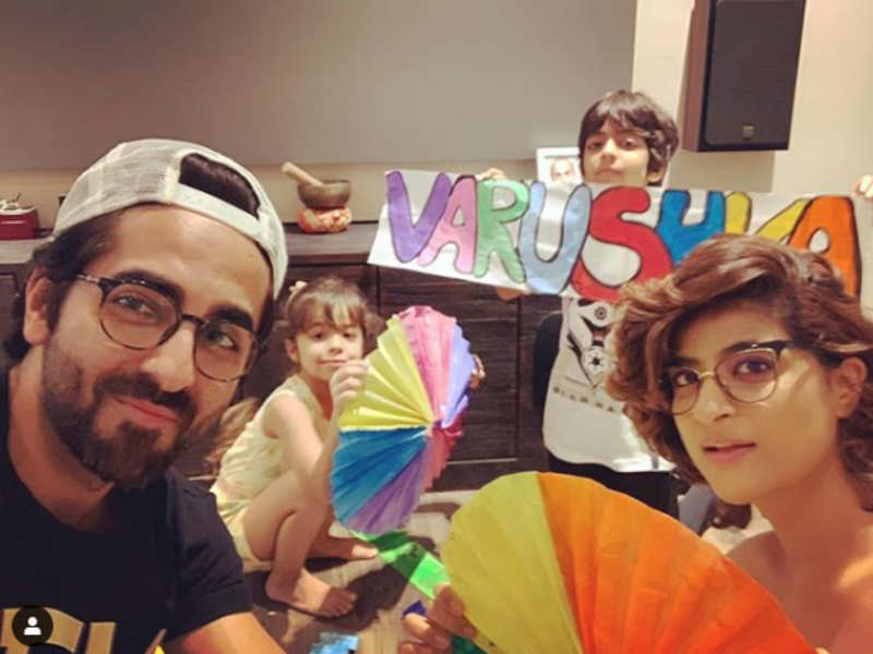 Ayushmann and wife Tahira celebrate daughter's birthday in this special way amidst lockdown